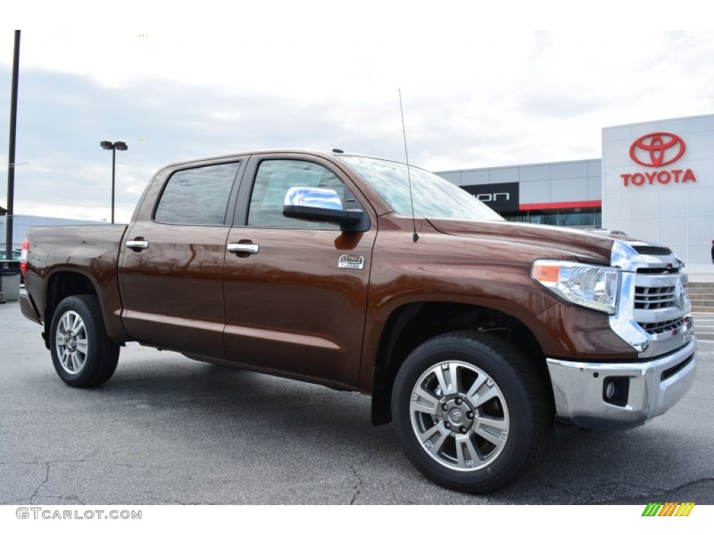 2014 Tundra 1794 Edition Crewmax 4x4 - Sunset Bronze Mica / 1794 Edition Premium Brown photo #1