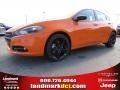 2014 Header Orange Dodge Dart SXT #92038702