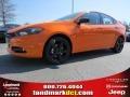 2014 Header Orange Dodge Dart SXT #92038701