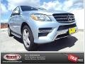 Diamond Silver Metallic 2014 Mercedes-Benz ML 350