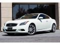 Ivory Pearl White 2008 Infiniti G 37 S Sport Coupe