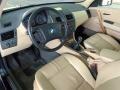 2004 BMW X3 Sand Beige Interior Interior Photo
