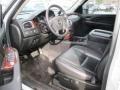 2009 Chevrolet Silverado 1500 Ebony Interior Prime Interior Photo