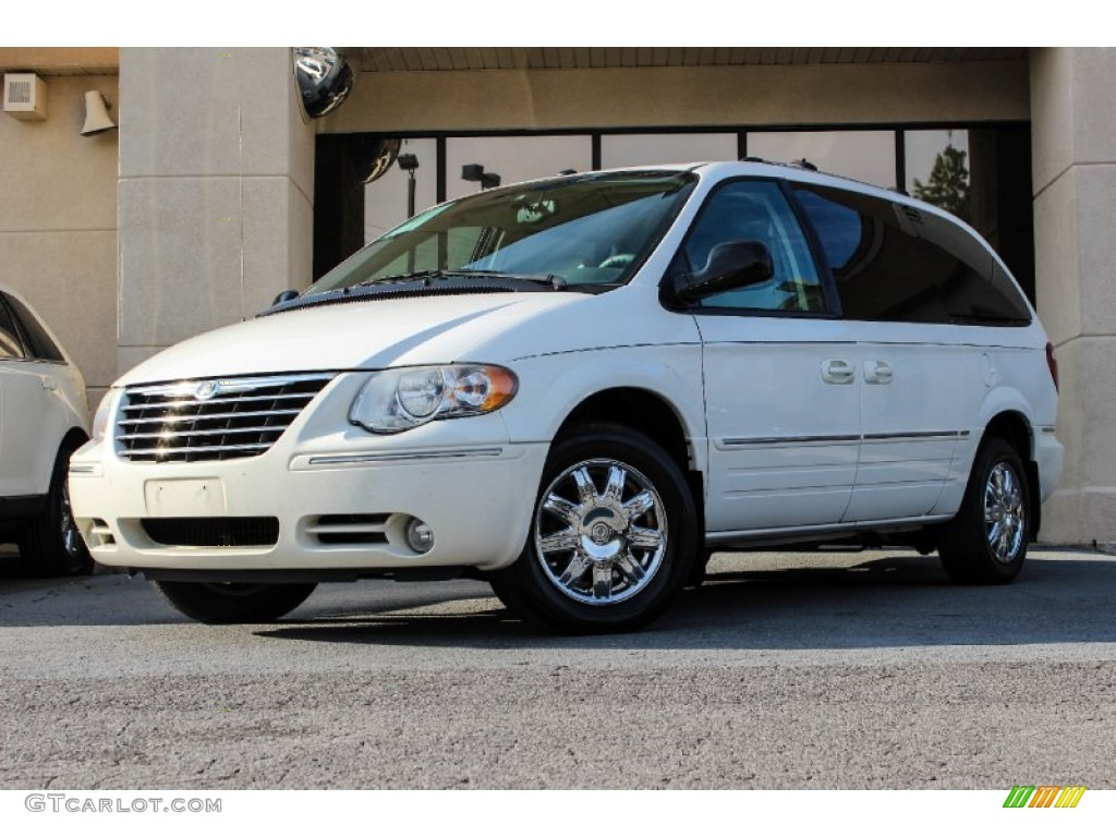 Stone white 2006 chrysler town country limited exterior for Stone s town country motors