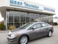 Urban Titanium Metallic 2012 Honda Civic EX-L Sedan