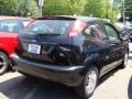 2005 Pitch Black Ford Focus ZX3 SE Coupe  photo #4