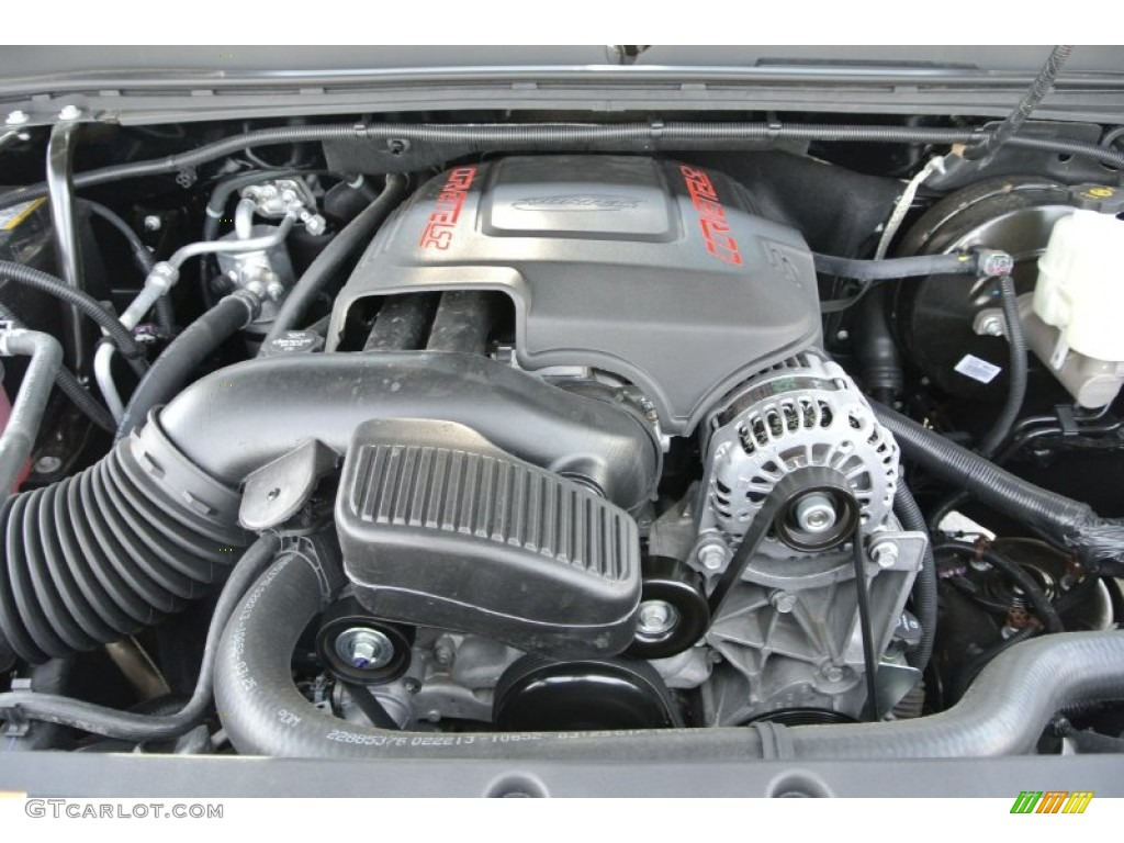 2013 Chevrolet Silverado 1500 LTZ Crew Cab 4x4 Engine Photos