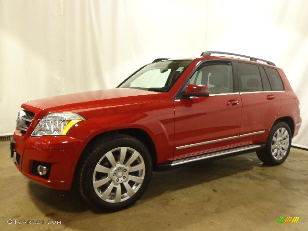 Mars Red 2012 Mercedes Benz Glk 350 4matic Exterior Photo