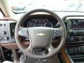 2014 Chevrolet Silverado 1500 High Country Saddle Interior Steering Wheel Photo