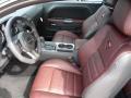 2014 Dodge Challenger Anniversary Dark Slate Gray/Molten Red Interior Interior Photo