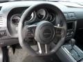 2014 Dodge Challenger Anniversary Dark Slate Gray/Molten Red Interior Steering Wheel Photo