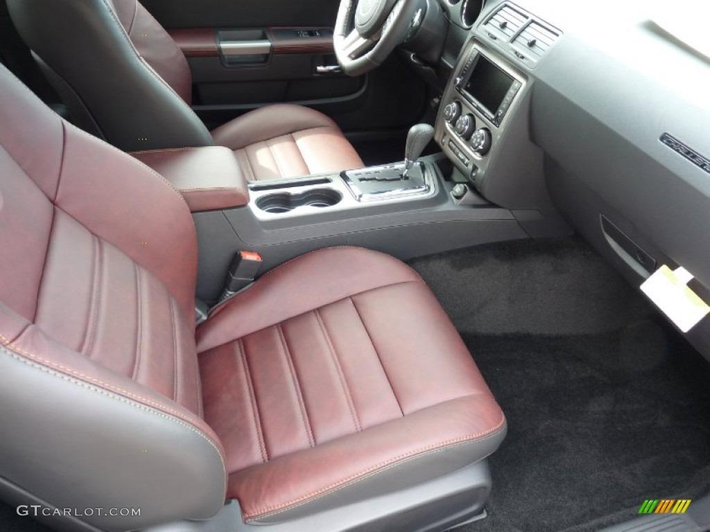 Anniversary Dark Slate Gray Molten Red Interior 2014 Dodge Challenger R T 100th Anniversary Edition Photo 92171191 Gtcarlot Com