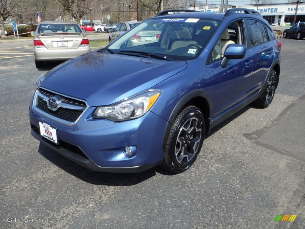 2014 quartz blue pearl subaru xv crosstrek limited 92138069 car color. Black Bedroom Furniture Sets. Home Design Ideas