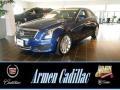 Opulent Blue Metallic 2013 Cadillac ATS 2.5L Luxury