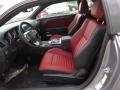 Dark Slate Gray/Radar Red 2014 Dodge Challenger Interiors