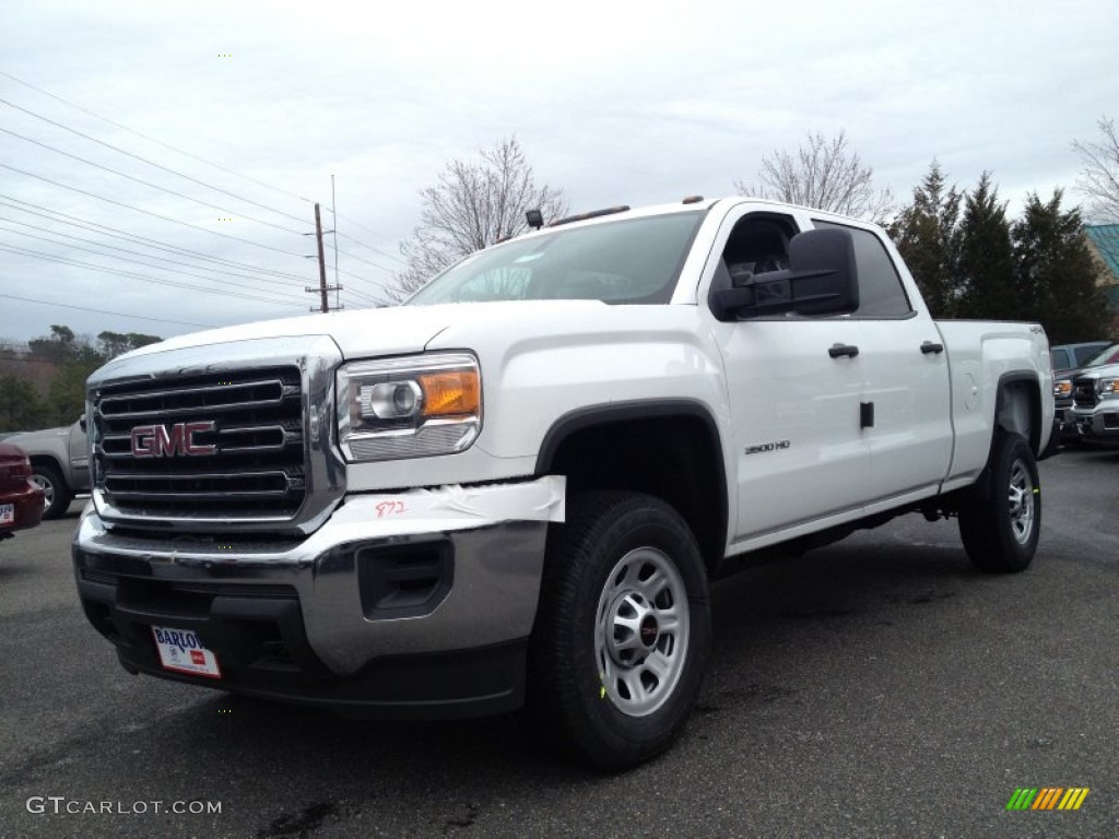 2015 summit white gmc sierra 3500hd work truck crew cab 4x4 92194153 car color. Black Bedroom Furniture Sets. Home Design Ideas