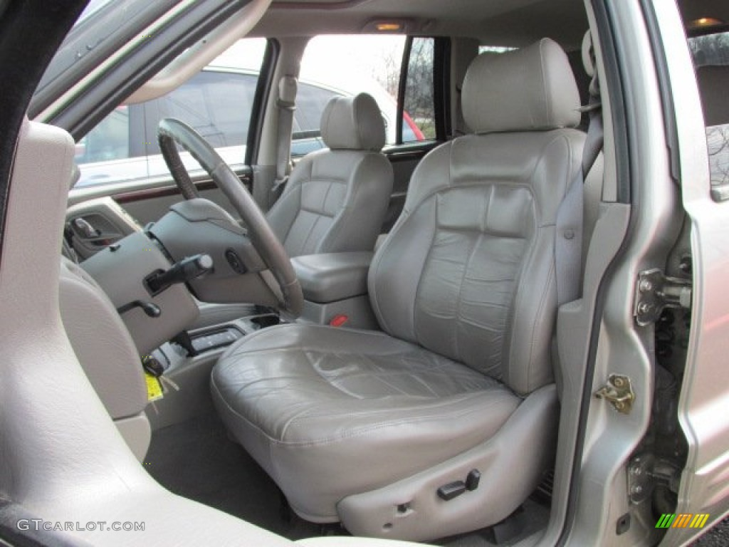 2004 Jeep Grand Cherokee Limited 4x4 Interior Color Photos