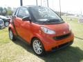 Rally Red 2008 Smart fortwo passion cabriolet