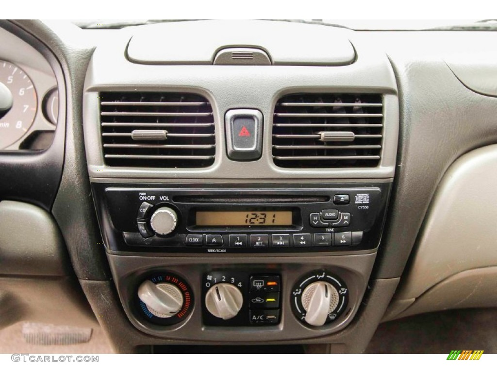 2003 nissan sentra 2 5 limited edition controls photo. Black Bedroom Furniture Sets. Home Design Ideas