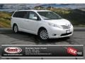 Super White 2014 Toyota Sienna Limited AWD
