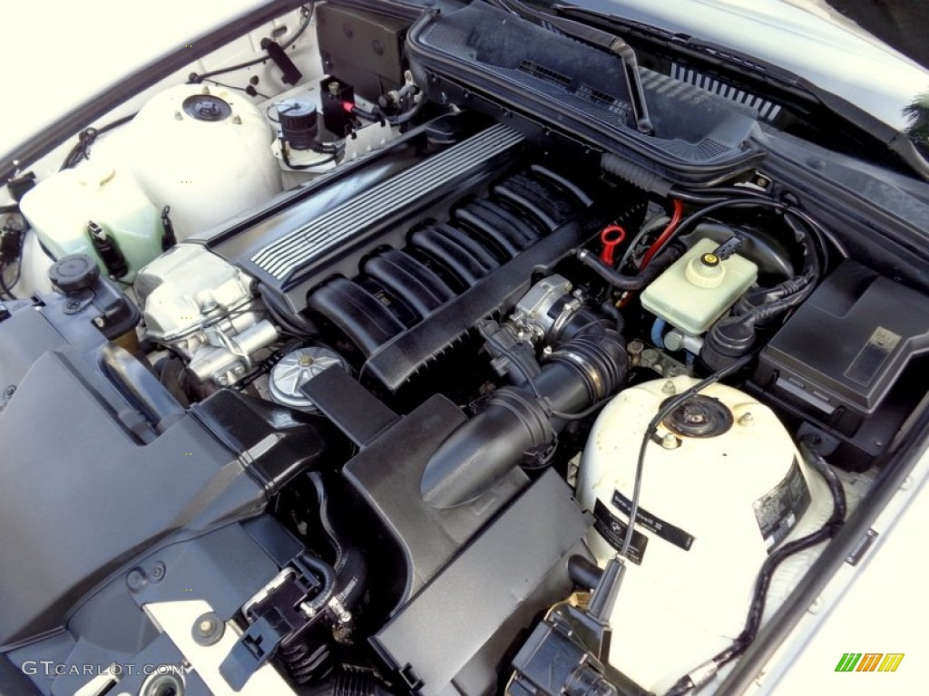 1994 Bmw 3 Series 325i Convertible Engine Photos