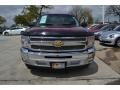 2013 Deep Ruby Metallic Chevrolet Silverado 1500 LT Regular Cab  photo #8