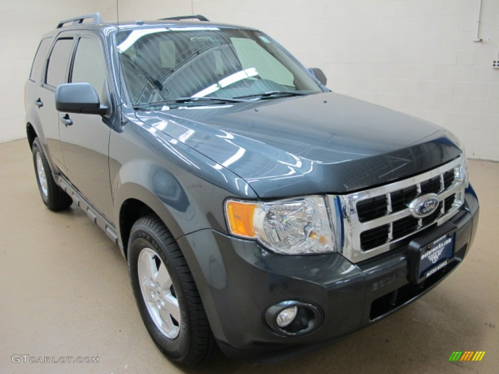 2009 Escape XLT 4WD - Black Pearl Slate Metallic / Charcoal photo #1