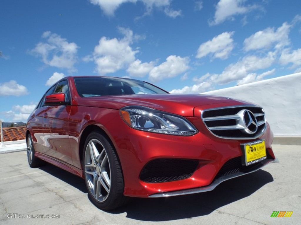 2014 Hyacinth Red Metallic Mercedes Benz E 350 Sport Sedan 92304448