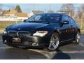 2007 Black Sapphire Metallic BMW 6 Series 650i Coupe #92304522