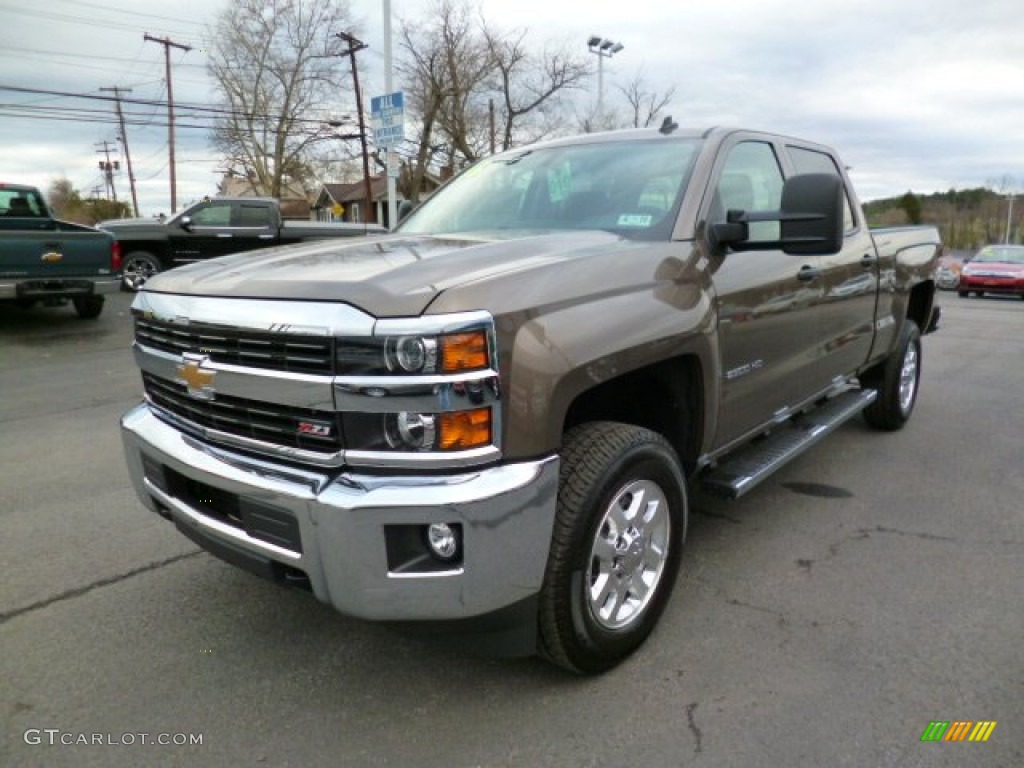 2015 brownstone metallic chevrolet silverado 2500hd lt crew cab 4x4 92304805 photo 3. Black Bedroom Furniture Sets. Home Design Ideas