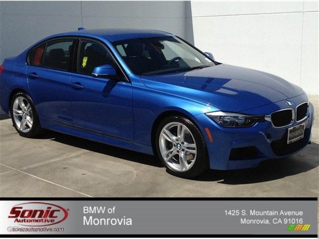 2014 estoril blue bmw 3 series 328i sedan 92304561 car color galleries. Black Bedroom Furniture Sets. Home Design Ideas