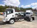 Arc White 2014 Isuzu N Series Truck NPR HD Chassis