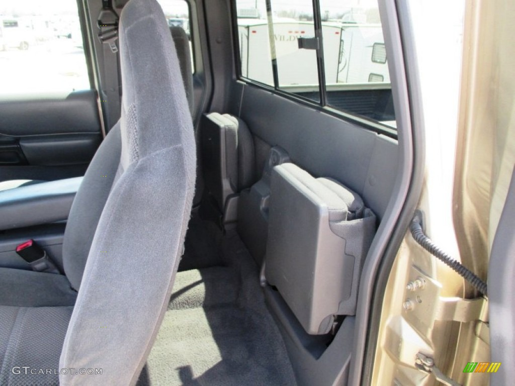 1999 Ford Ranger XLT Extended Cab 4x4 Rear Seat Photo