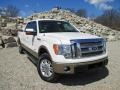Oxford White 2012 Ford F150 Lariat SuperCrew 4x4