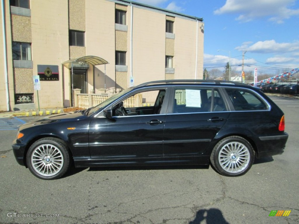 jet black 2002 bmw 3 series 325xi wagon exterior photo. Black Bedroom Furniture Sets. Home Design Ideas