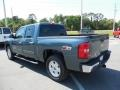 2012 Blue Topaz Metallic Chevrolet Silverado 1500 LT Crew Cab 4x4  photo #3