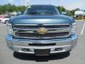 2012 Blue Topaz Metallic Chevrolet Silverado 1500 LT Crew Cab 4x4  photo #14