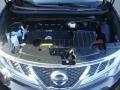 2011 Super Black Nissan Murano SV AWD  photo #28