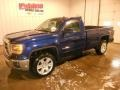 Cobalt Blue Metallic 2014 GMC Sierra 1500 SLE Regular Cab 4x4