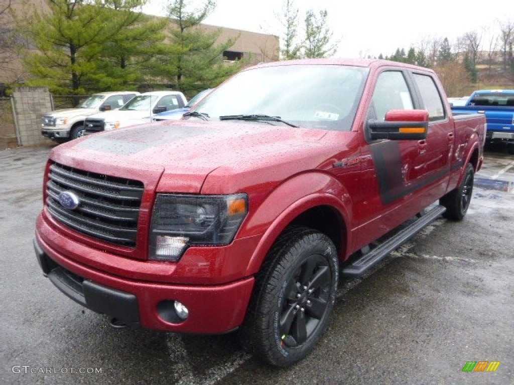 2014 ruby red ford f150 fx4 supercrew 4x4 92433696 photo 5 car color galleries. Black Bedroom Furniture Sets. Home Design Ideas