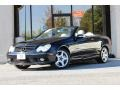 Black 2005 Mercedes-Benz CLK 500 Cabriolet