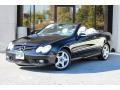 Front 3/4 View of 2005 CLK 500 Cabriolet
