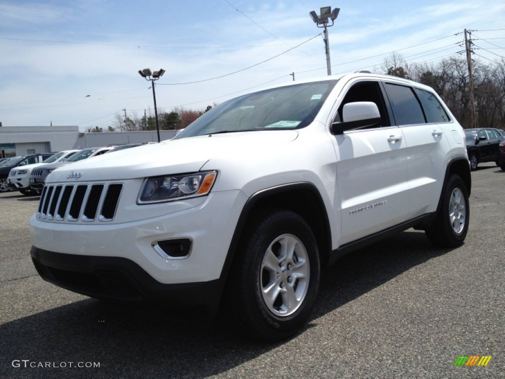 2014 bright white jeep grand cherokee laredo 4x4 92433520 car color galleries. Black Bedroom Furniture Sets. Home Design Ideas