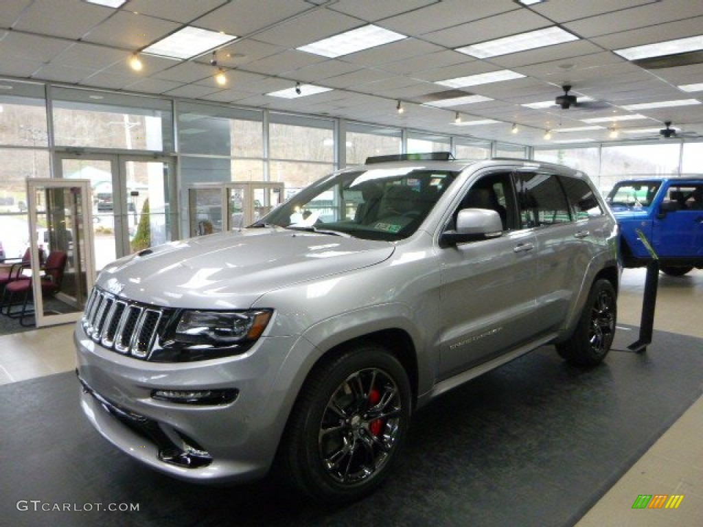 2014 Billet Silver Metallic Jeep Grand Cherokee Srt 4x4