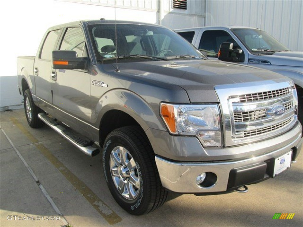 2014 sterling grey ford f150 xlt supercrew 4x4 92475316 car color galleries. Black Bedroom Furniture Sets. Home Design Ideas