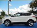 2014 White Platinum Ford Escape SE 2.0L EcoBoost  photo #2