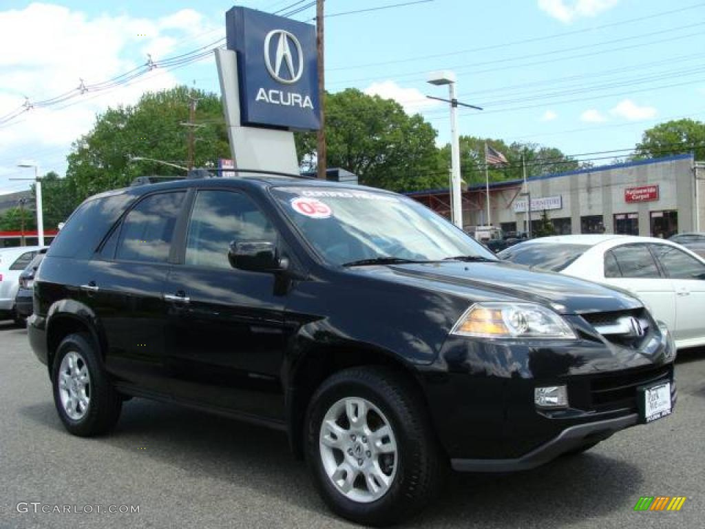 acura mdx touring nighthawk black pearl color ebony interior 2005 mdx ...