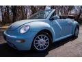 Aquarius Blue 2005 Volkswagen New Beetle GLS Convertible