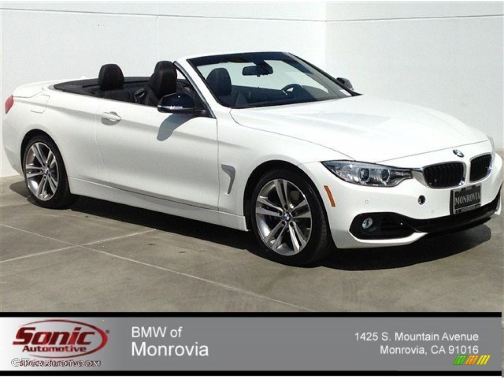 2014 Alpine White Bmw 4 Series 428i Convertible 92497734 Car Color Galleries