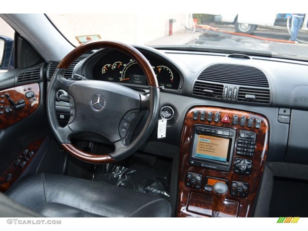 2001 mercedes benz cl 500 dashboard photos for Mercedes benz dashboard